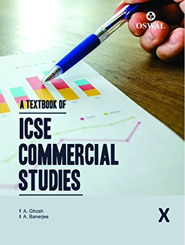 Oswal ICSE Text Book of Commercial Studies for Class 10 (for 2019 Exam)