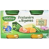 Blédina Printanière de Légumes en Pot dès 6 Mois 260 g
