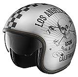 IXS X-Helm HX 78 California, Größe:XL, Farbe:silber-schwarz matt