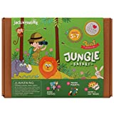 #1: JackInTheBox - Best gift for kids - Jungle Safari 3-in-1 Craft Kit - Ages 5 to 8 years
