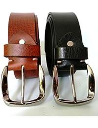 Leather Belt 100% By John KILLR-Genuine Leather Belt For Men-Leather Belt In Black-Leather Belt New-Leather Belt...