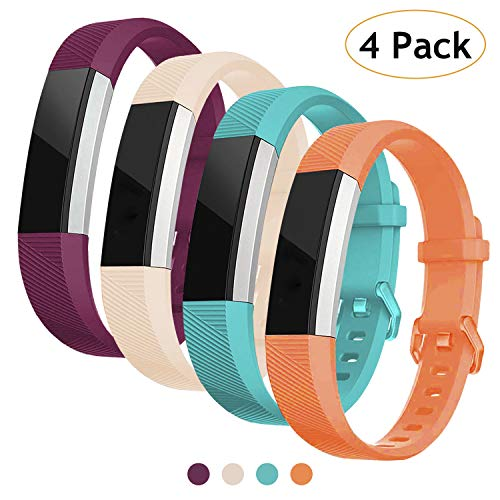Vitty for Fitbit Alta/Alta HR Wrist Straps for Women and Men, Fitbit Alta/Alta Bands Adjustable Replacement Silicone Sport Wristband for Fitbit Alta/Alta HR