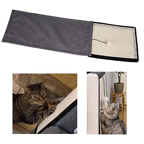 Krystallove - Alfombra para Gatos, para Mascotas, para sofá, protección para Mascotas, rascador para Gatos, Almohadilla de sisal