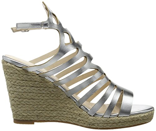 Another Pair of Shoes Wyatte1, Sandali con Zeppa Donna Argento (Silver100)