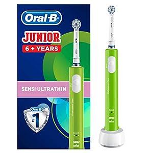 Oral-B Junior Elektrische Zahnbürste, für Kinder ab 6 Jahren