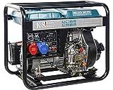K&S   Könner&Söhnen   Diesel Generator   230V   400V   6,5KW   Stromaggregat 8100HDE-1/3   ATS Stromerzeuger