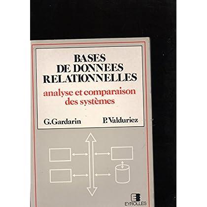 Bases de données relationnelles : Analyse et comparaison des systèmes (Architecture des systèmes d'informations)