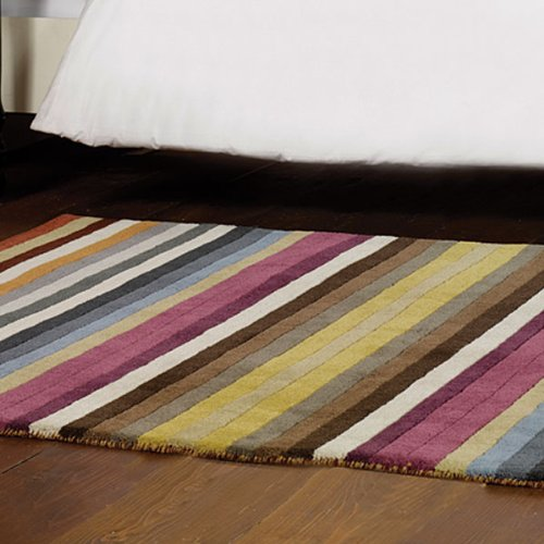 Flair Rugs Woodland Poplar Wool Rug, Multi, 120 x 170 Cm