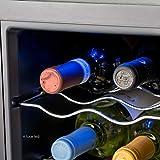 Cantinetta per 8 Bottiglie di Vino - Mini Frigo Bar Frigorifero per Vini e Bevande Wooler8 - Wintem