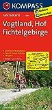 Vogtland - Hof - Fichtelgebirge: Fahrradkarte. GPS-genau. 1:70000 (KOMPASS-Fahrradkarten Deutschland, Band 3081) -