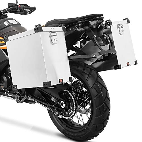 Maletas Aluminio + Kit 18mm BMW F 650 / GS/Dakar