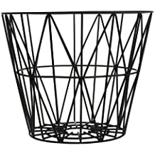 Ferm Living - Wire Basket Small - Noir