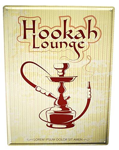 LEotiE SINCE 2004 Blechschild Tabak Nostalgie Shisha Lounge
