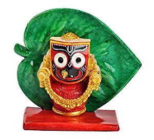 Riya's Signature Lord Jagannath Spirtual Home Decor Showpiece