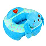 Alpacasso Creative Baby Nursing Safe Sitting Chair,Comfortable Baby Support Feeding Safety Sofa Plush Gift Toys. (Blue Dog)