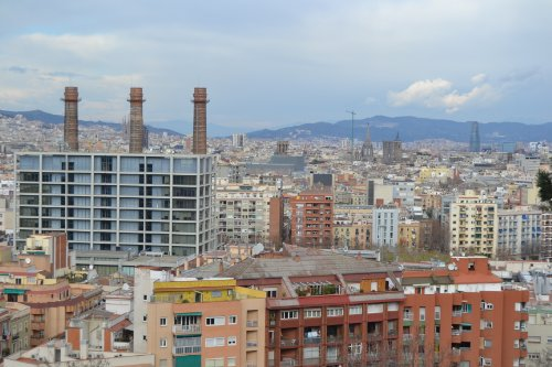 tejados de barcelona por Víctor  MaríaCospedal Martínez