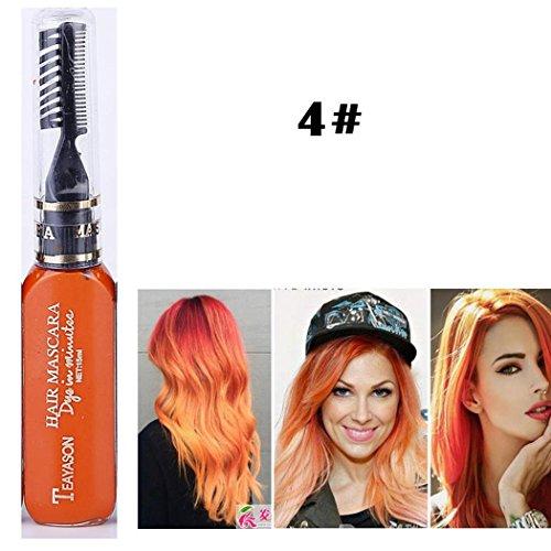 13 Farben Haarkreide ungiftig Haar Kreide temporäre Farbe Haarfärbemittel für Frauen, Männer und Kinder perfektes Geschenk für Geburtstag Mottoparty