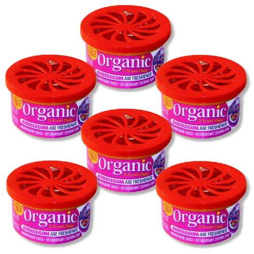 6-dosen-organic-can-duftdose-autoduft-kaugummi-bubblegum