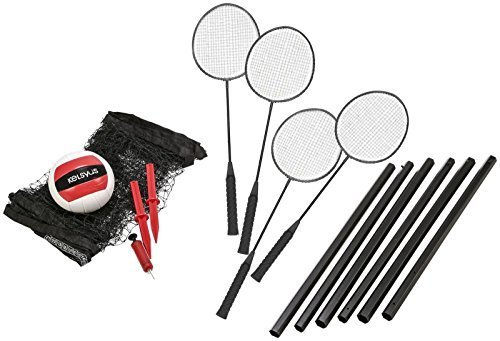 kelsyus Premium Badminton/Volleyball Game Set by