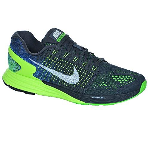 Nike  Lunarglide 7, Chaussures de Running homme Noir (anthracite/game royal/blue lagoon/summit white)
