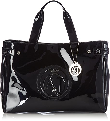 Armani Jeans Shoes & Bags De - 0529155, Acquirente da donna, nero (nero - black 12), 38x28x11 cm (B x H x T)
