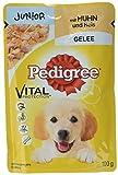 Pedigree Vital Protection Welpenfutter Hundefutter mit Huhn und Reis in Gelee, 24 Beutel (24 x 100 g)