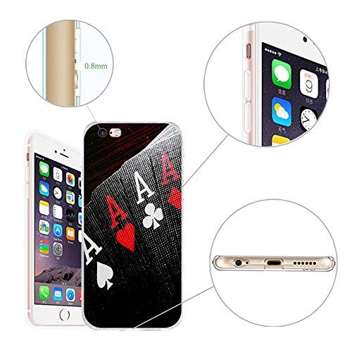 Coque Apple iPhone 5 5S 5SE, Fubaoda [comme le rêve] artistique Série Peinture Étui TPU silicone élégant et sobre pour Apple iPhone 5 5S 5SE pic: 05