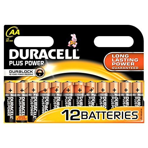Preisvergleich Produktbild DURACELL Alkaline Batterie ´PLUS POWER´, Mignon AA, 12er