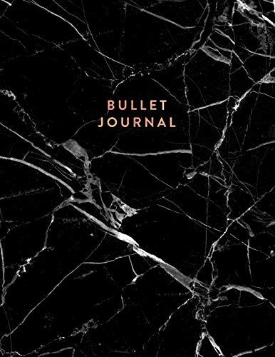 Bullet Journal: Dot Grid Notebook   Black Marble and Rose Gold   8.5 x 11   A4 Journal (Marble and Gold Bullet Journal, Band 1)