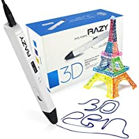 3D Printing Pen with LED Display for Doodling, Art &