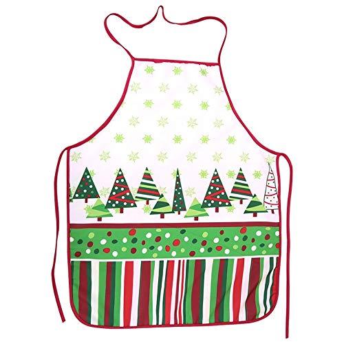 Llp Maquillaje Navidad Delantal Atractivo Vestido