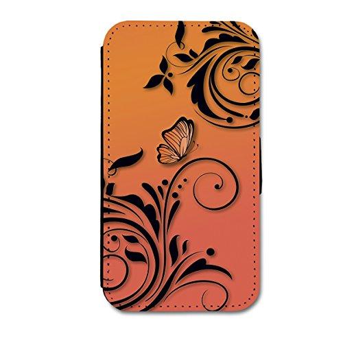 Book Style Flip Handy Tasche Case Schutz Hülle Schale Motiv Etui für Apple iPhone 4 / 4S - A14 Design1 Design 6
