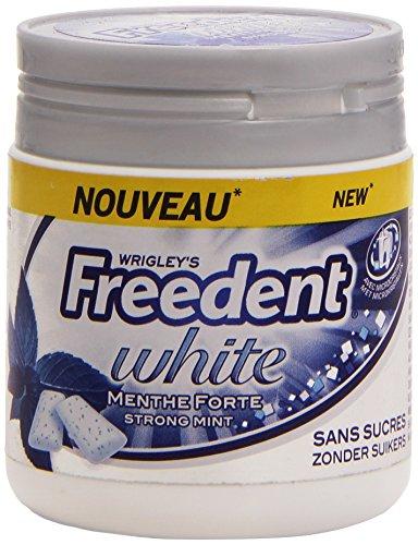 Freedent  Dragées Chewing-gum Menthe Forte la Box 84g