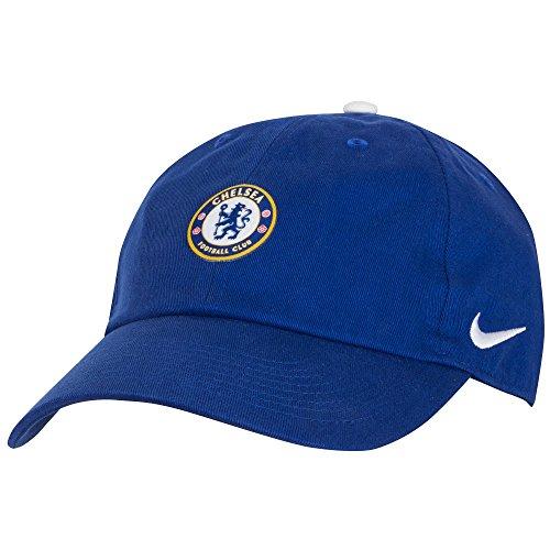 Nike Erwachsene Chelsea FC H86 Core Kappe, Rush Blue/White, One Size
