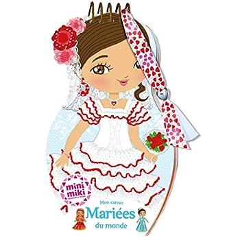 Minimiki - Carnet créatif - Mariées du monde