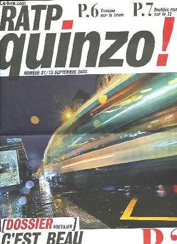 Ratp quinzo! n°22 - c'est beau une ville la
