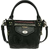 Desigual Bols Mcbee mini blackbout Across Body
