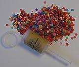 die gudn Konfetti Kanönle (6 Stück / Confetti-Push-Pop) für jeglichen Anlass (Hochzeit, Geburtstag, Silvester und sonstige Partys)