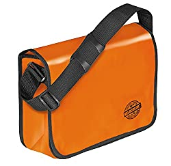 Veloflex 7000330 Shoulder Bag Velocolor Umhängetasche, Orange