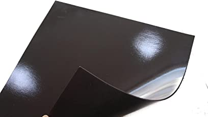 Perfect Magnets 2 Pcs Flexible Magnetic Sheets 30cmx30cm, 2mm thick