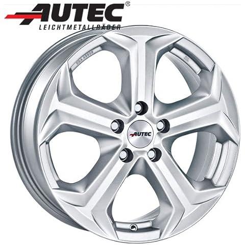 Aluminio Llanta autec Xenos Honda CR-V 2WD Generación 4–A partir de 2013RE5, RE67.0x 17Brillant Plata