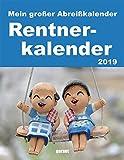 Abreißkalender Rentnerkalender 2019