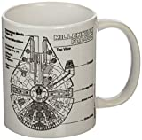Pyramid International Star Wars (Millennium Falcon Sketch) Tasse à café, 11 oz / 315 ml