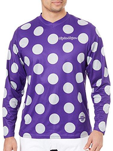 Troy Lee Designs 2018 TLD GP Jersey Polka Dot Purple/Grey