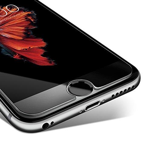 Coolreall Vidrio Templado Protector de Pantalla para iPhone 6/6s  4.7