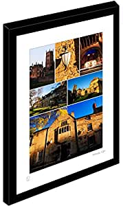 Framed MULTI IMAGE Print of Chipping Campden (M)