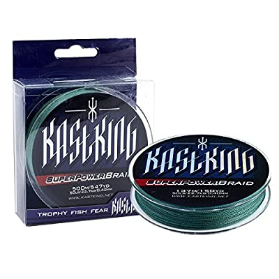 KastKing SuperPower Braided Fishing Line - Abrasion Resistant Braided Lines – Incredible Superline – Zero Stretch – Smaller Diameter – A Must-Have! from Eposeidon