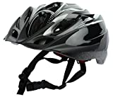 #6: GENRIC Inmould Helmet Bicycle Adults Vogue Sport (Black)