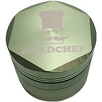 Head Chef hexellence 4Parte in metallo Herb Grinder Green