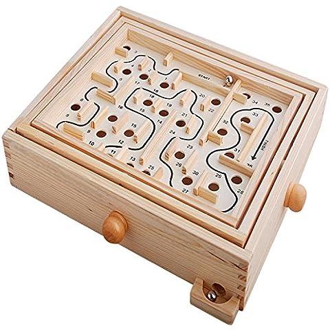 giocattoli educativi Labyrinth track ball in legno per bambini lo sviluppo del cervello Set - Intorno Schiuma Palla